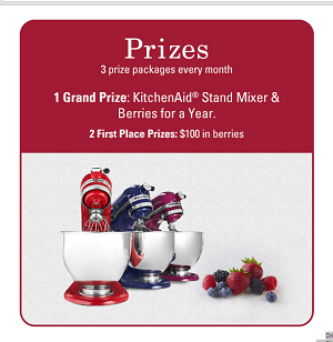 Driscoll's Joy of Strawberry Shortcake Sweepstakes.
