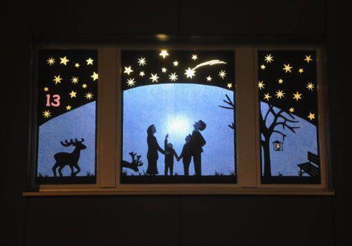 bildergebnis für adventfenster schmücken  adventfenster