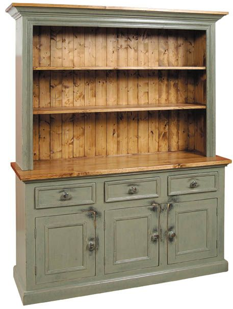 Hutch By Patty B Hollers Kitchen White Cabinets Furniture