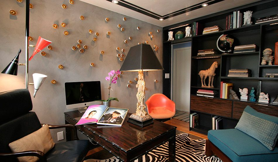 Dominic Fusco Studios   Interior Design And Custom Wall Finishes   Home  Office Project