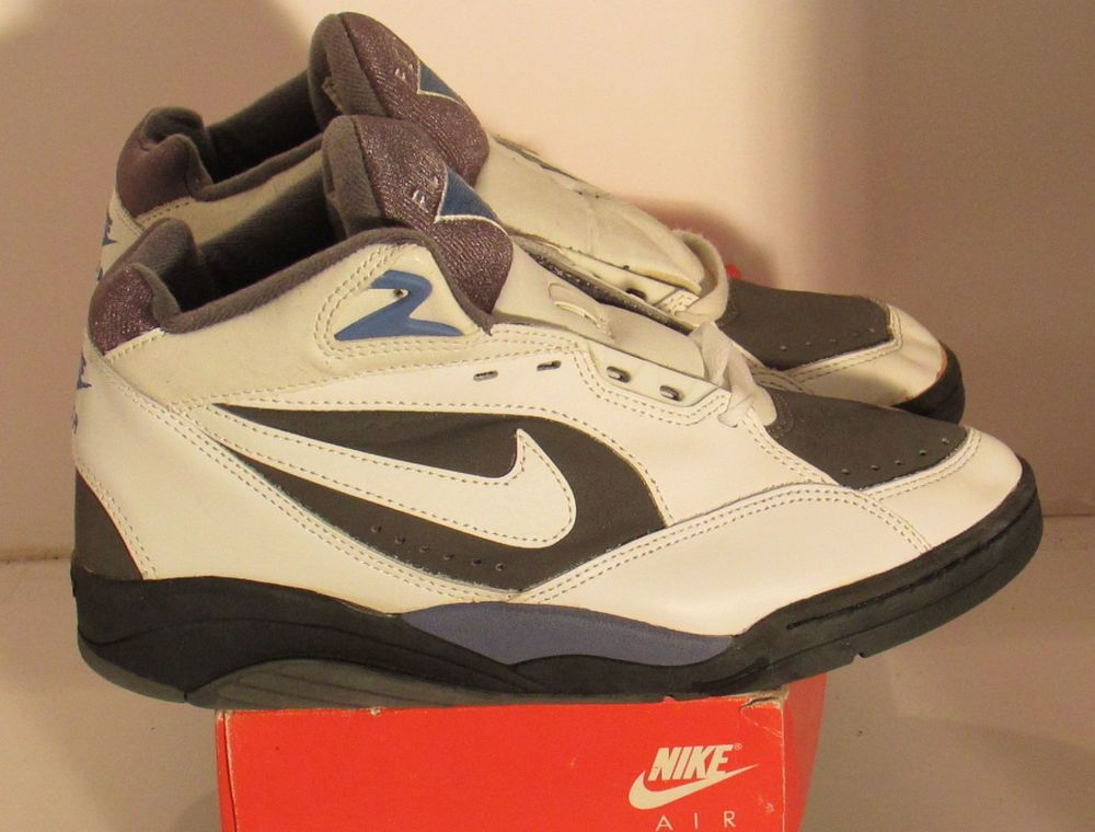 best sneakers 669da 59945 Nike Shoes Vintage Deadstock Air Sonic Flight Mid 8 130150-114 White 1992  email us and make offers eblairclothingaol.com