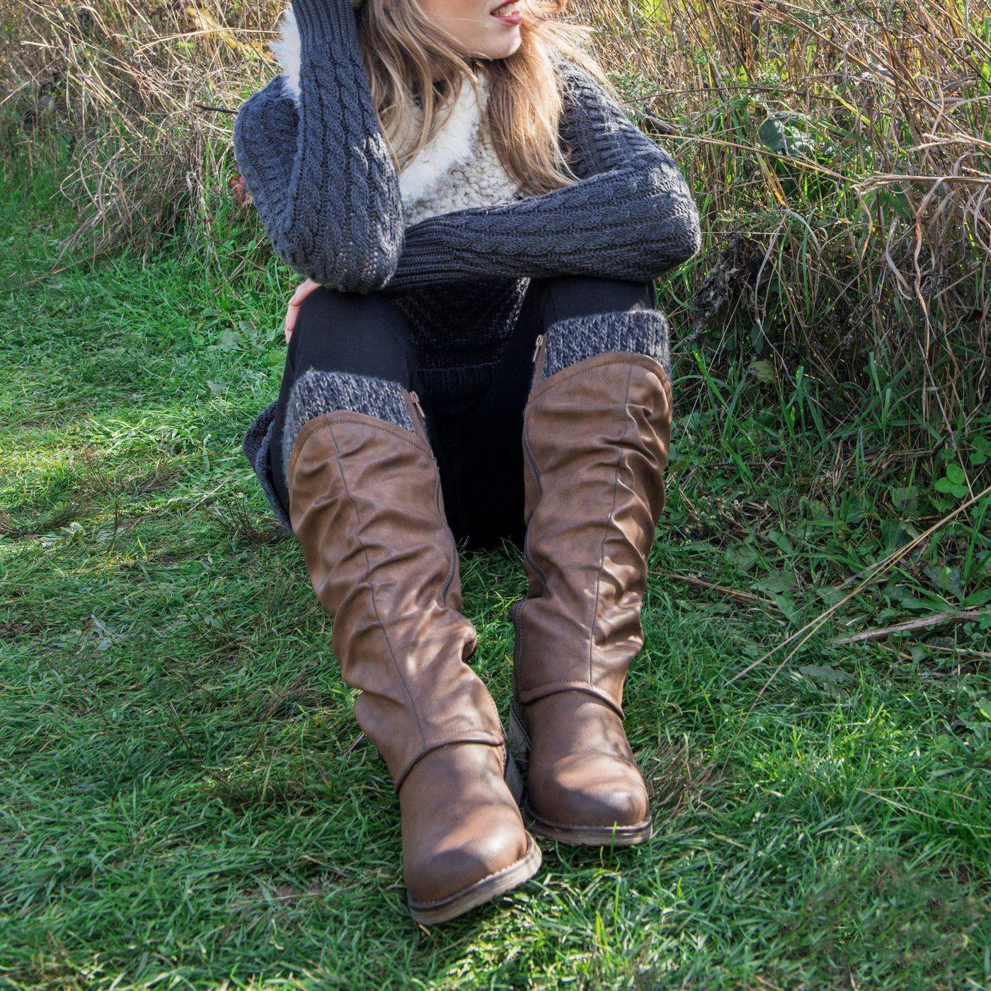 MUK LUKS Womens Bianca Boots Fashion