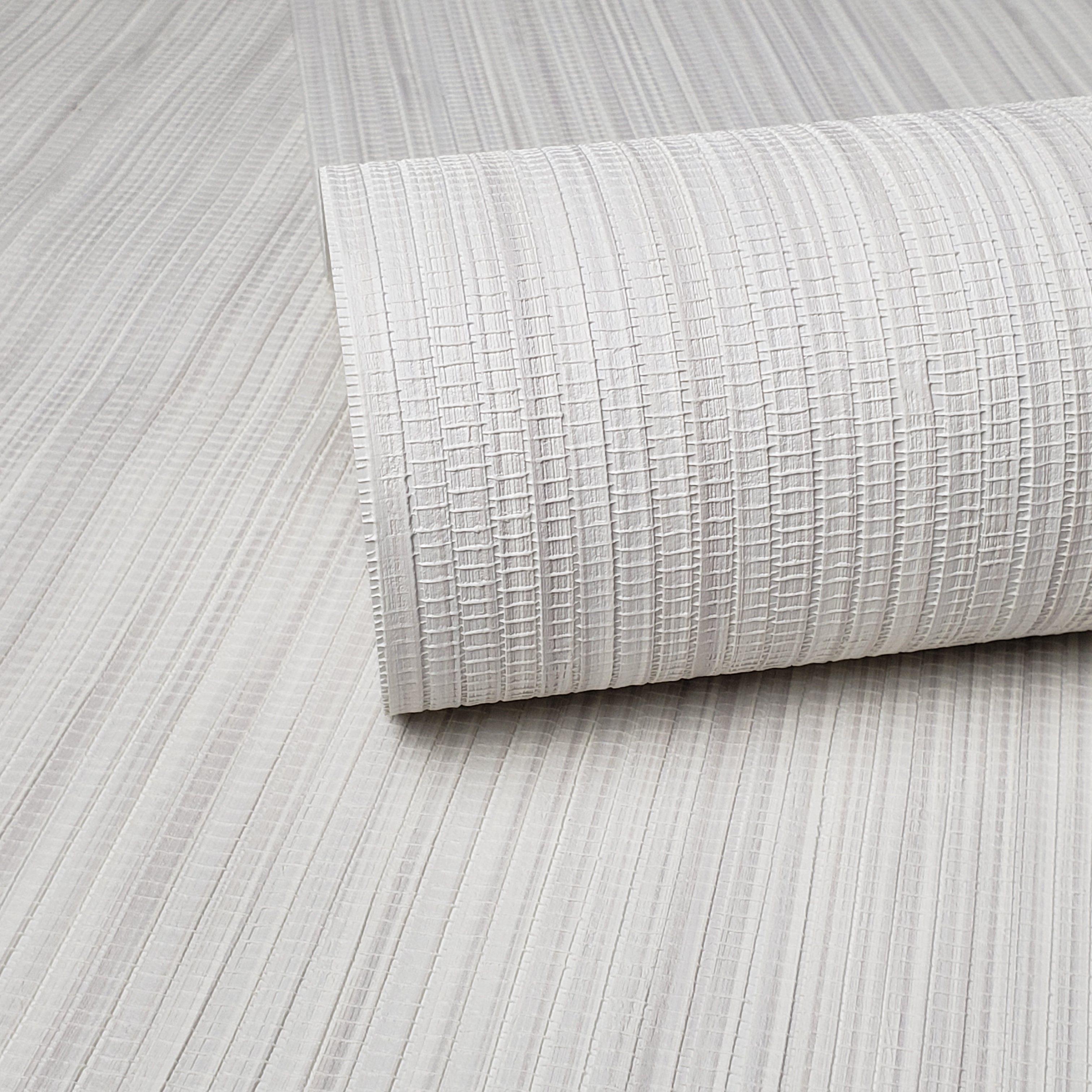 WM8803001 Wallpaper off white gray Cream Textured faux
