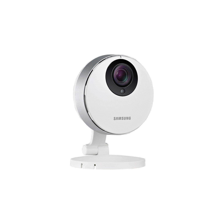 Camera Interieure Connectee Sans Fil Smartcam Full Hd Blanc Samsung Samsung Camera Et Camera Sans Fil