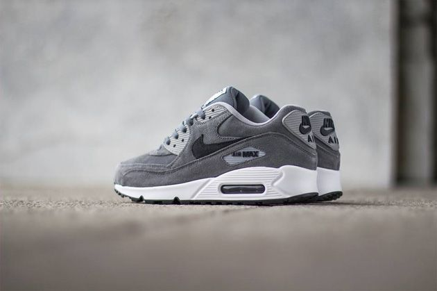 Air Max 90 Gris Anthracite Premium & Cafe