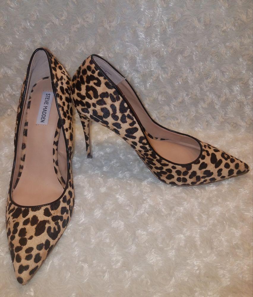 fbc3fd3b4cf NEW Steve Madden Women s Daisie-l Pumps Leopard Sz 11