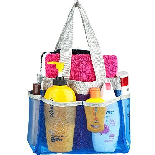 College Dorm Shower Caddy Hanging Mesh Shower Caddy Mesh Shower Tote ...