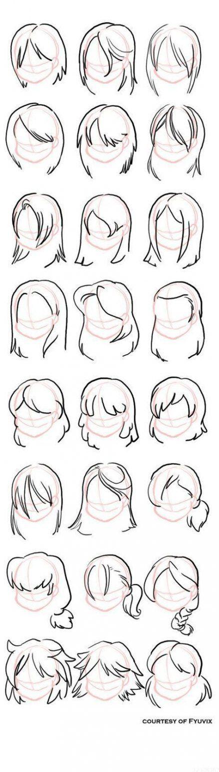 Photo of Drawing Tutorial Hair Hairstyles _ Drawing Tutorial Hair