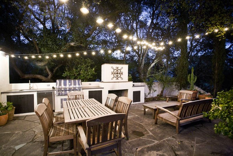 How To Hang String Lights On Covered Patio Amusing Contemporaryoutdoorpatiostringlightsdecor 800×534 Pixels Decorating Design