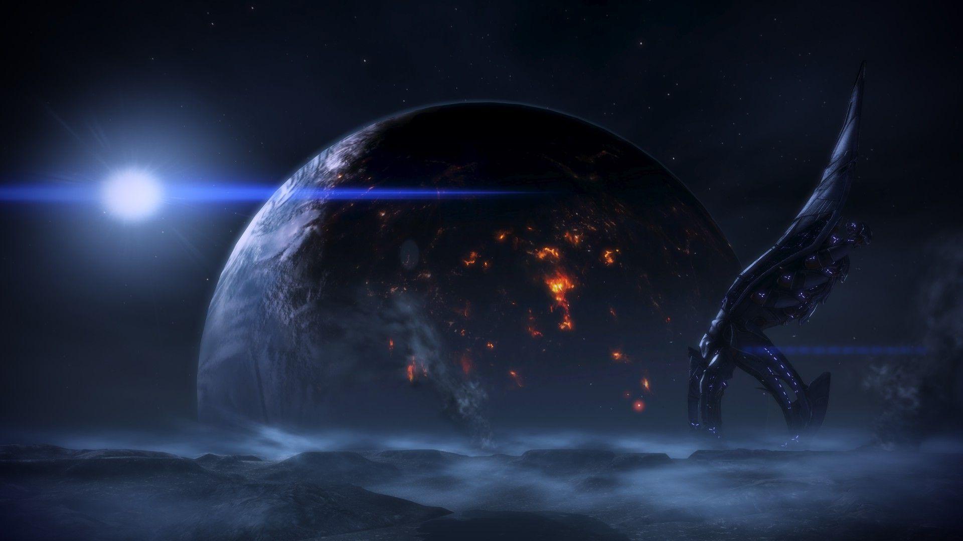 Mass Effect Hd Desktop Wallpapers For Desktop Wallpaper Wallpaper