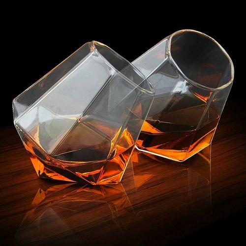 Diamond Whiskey Glass Set