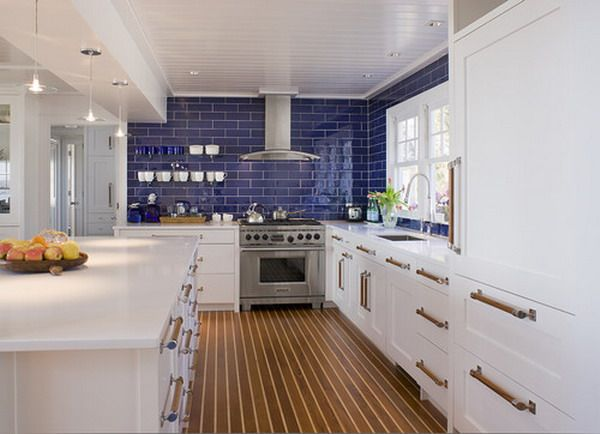 Ahoy Go With Teak And Holly Hardwood Floors To Give Your Kitchen