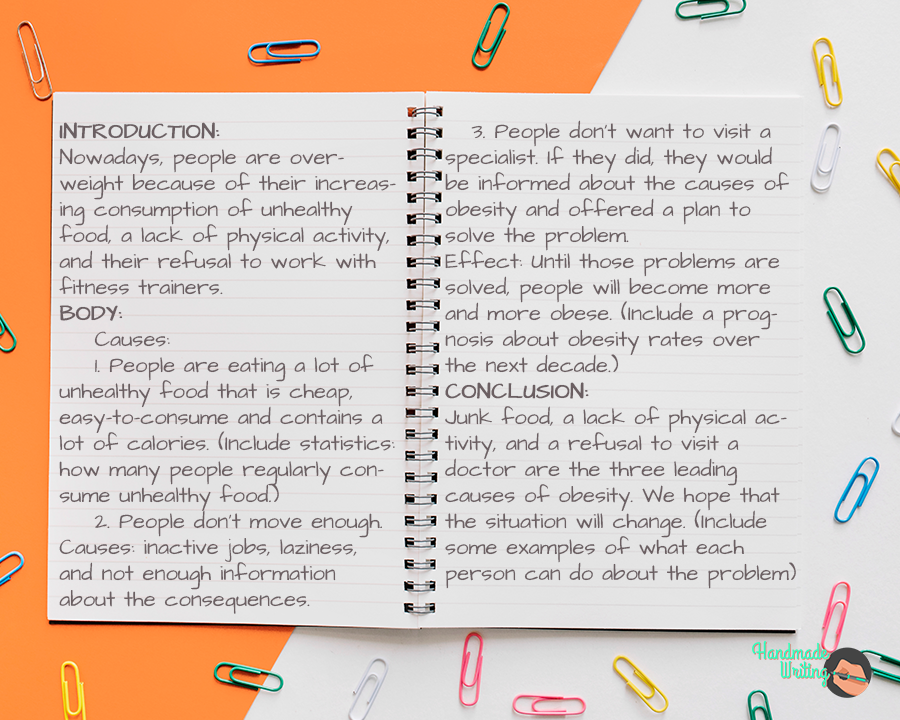 Cause And Effect Essay Outline Type Example Tip Hmw Blog In 2020 Writing Skill Sample