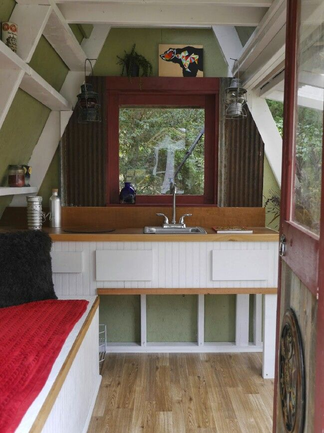 40 tiny house storage and organizing ideas for the entire home rh pinterest com tiny house 40 ft container 40' tiny house trailer