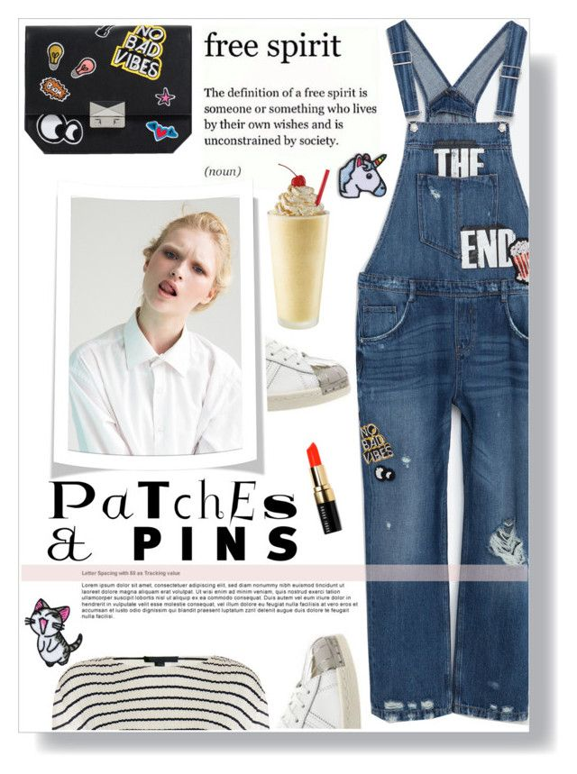 """""""Patch It, Pin It, Perfect! II"""" by giogiota ❤ liked on Polyvore featuring Zara, Topshop, Alexander Wang, Hipstapatch, Bobbi Brown Cosmetics, contestentry and patchesandpins"""
