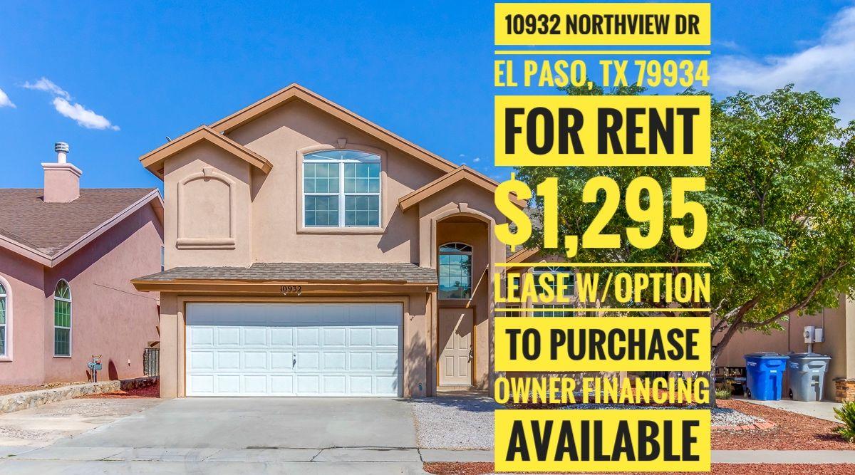 Elpaso Elpasotx Northeastelpaso Itsallgoodep Rental Rentalhome Rentalproperty Rent Property Lease O Rental Property House Rental Investment Property