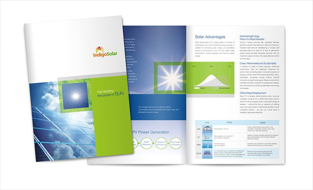 Brochure Design Services India – Vistas Brochure Design team ...