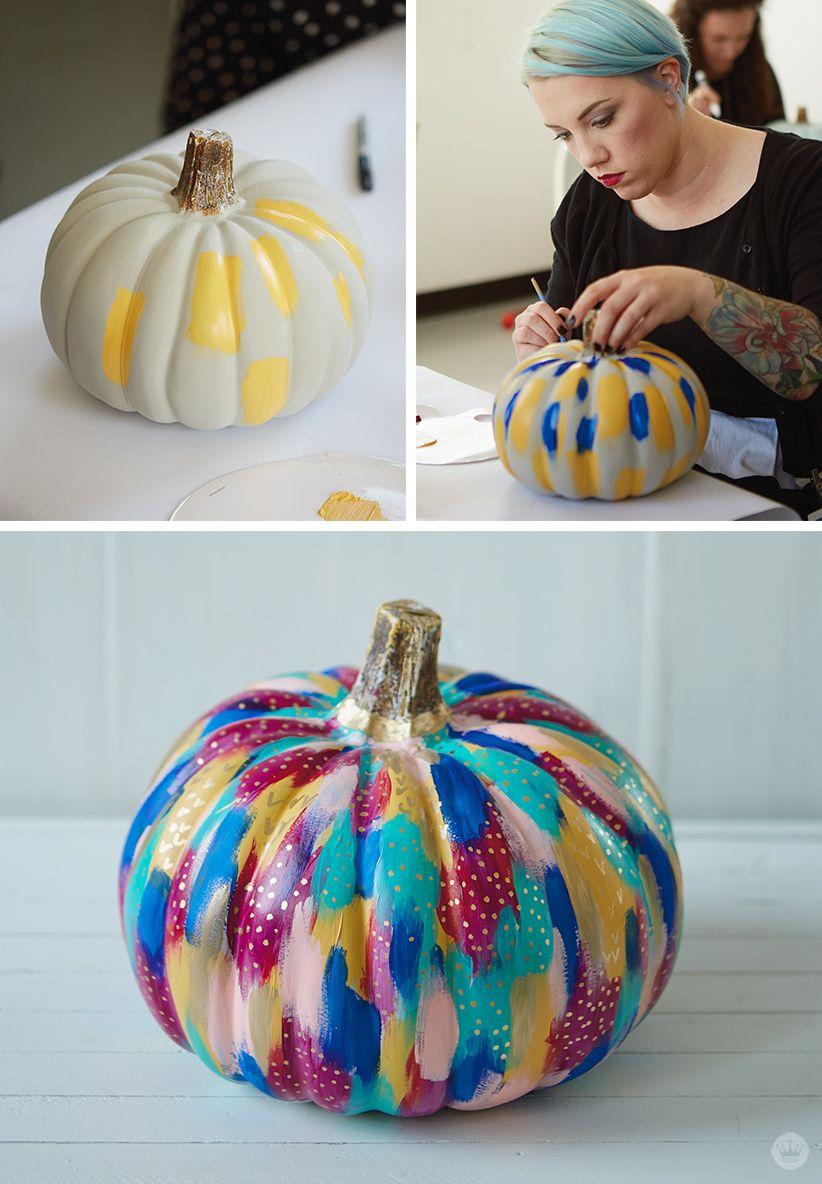 19 easy cute pumpkin painting ideas