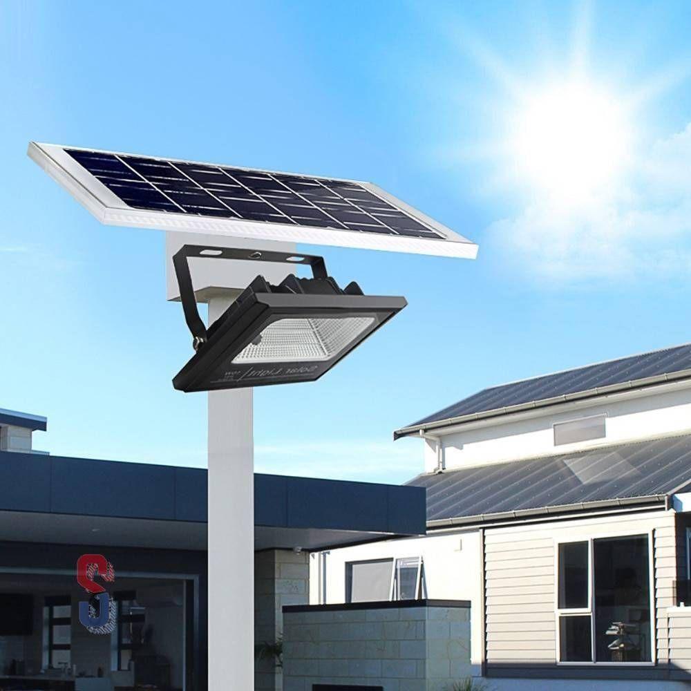 High Power Solar Outdoor Flood Light Shippedsale In 2020 Outdoor Flood Lights Outdoor Solar Solar Panels