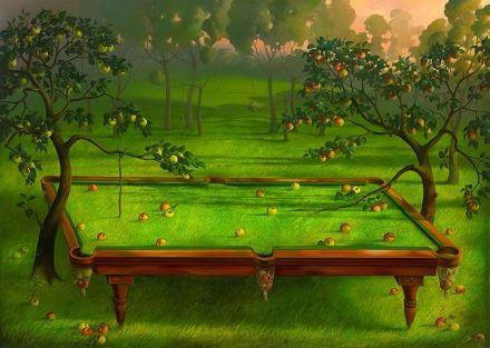 Vladimir Kush - garden-pooloil-on-canvas [993]                                                                                                                                                                                 More