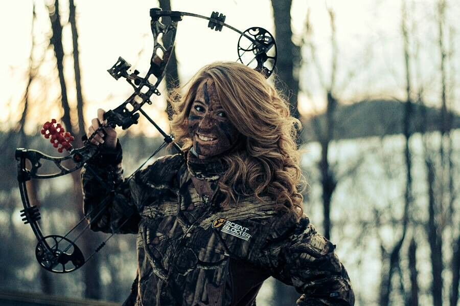 This will do be me once my man gets me my bow :)