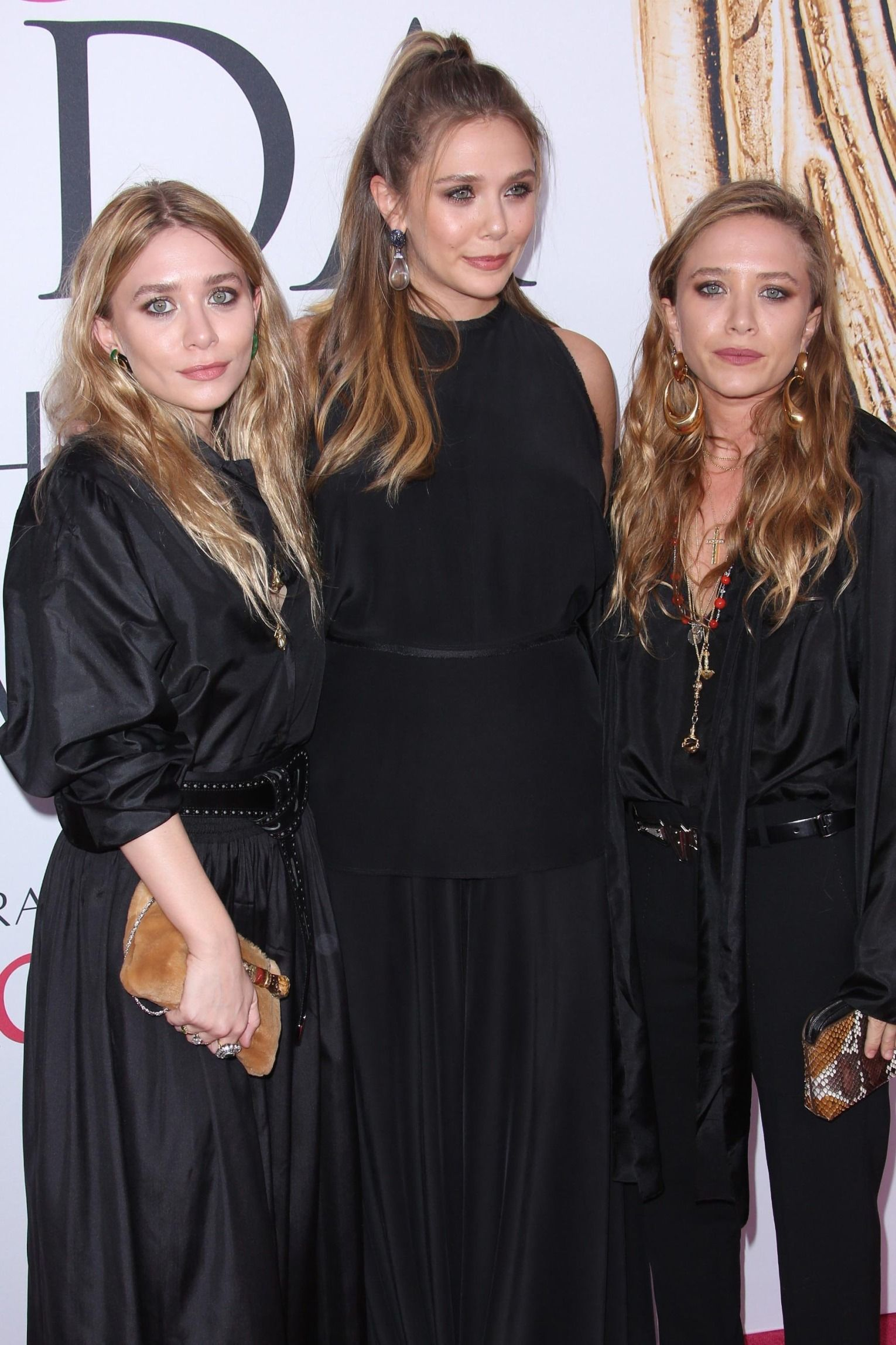 Ashley Olsen, Elizabeth Olsen and Mary-Kate Olsen.