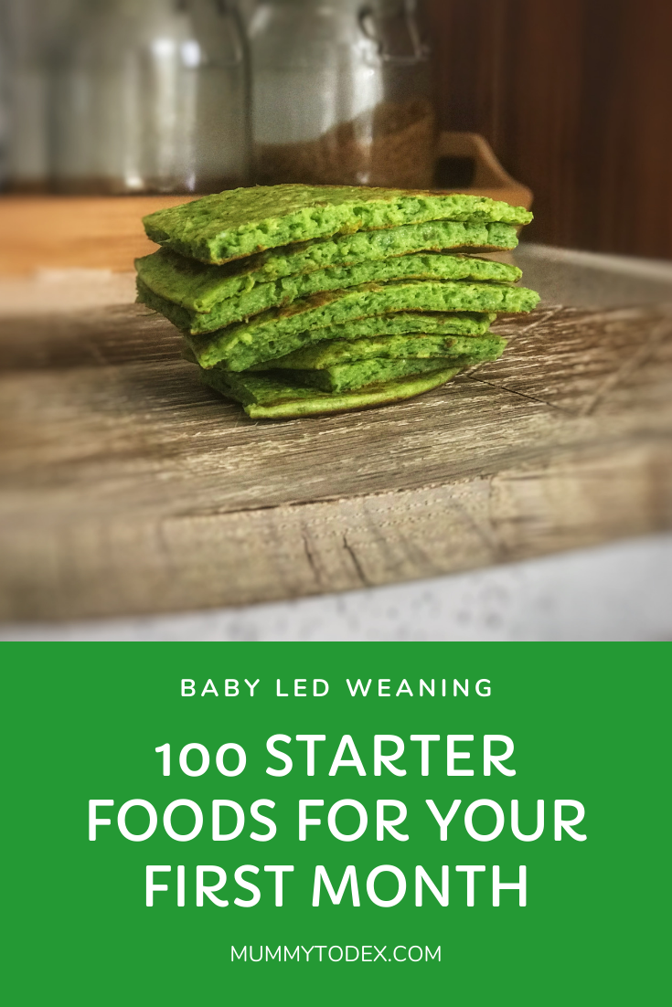 Baby Led Weaning Starter Foods - 100 Ideas for Your First Month