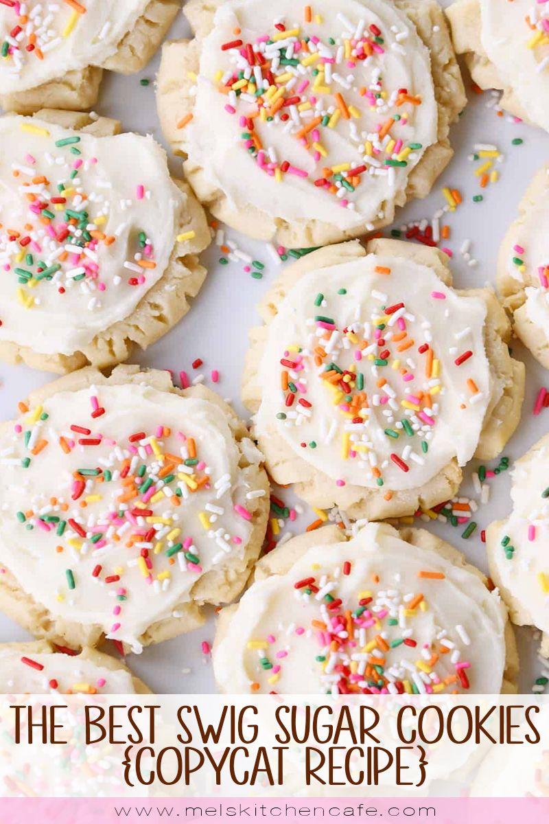 The Best Swig Sugar Cookies Copycat Recipe Mel S Kitchen Cafe Recipe Swig Sugar Cookies Easy Sugar Cookies Sugar Cookies Recipe