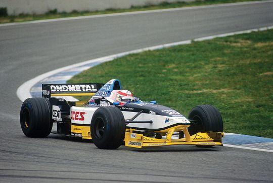 Tom Kristensen - Minardi M197 Hart - 1997 Testing session