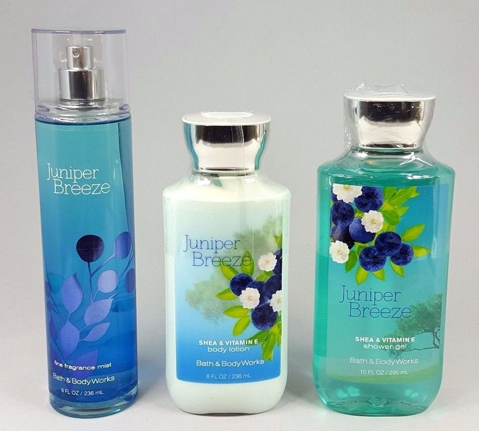 bath and body works juniper breeze fragrance