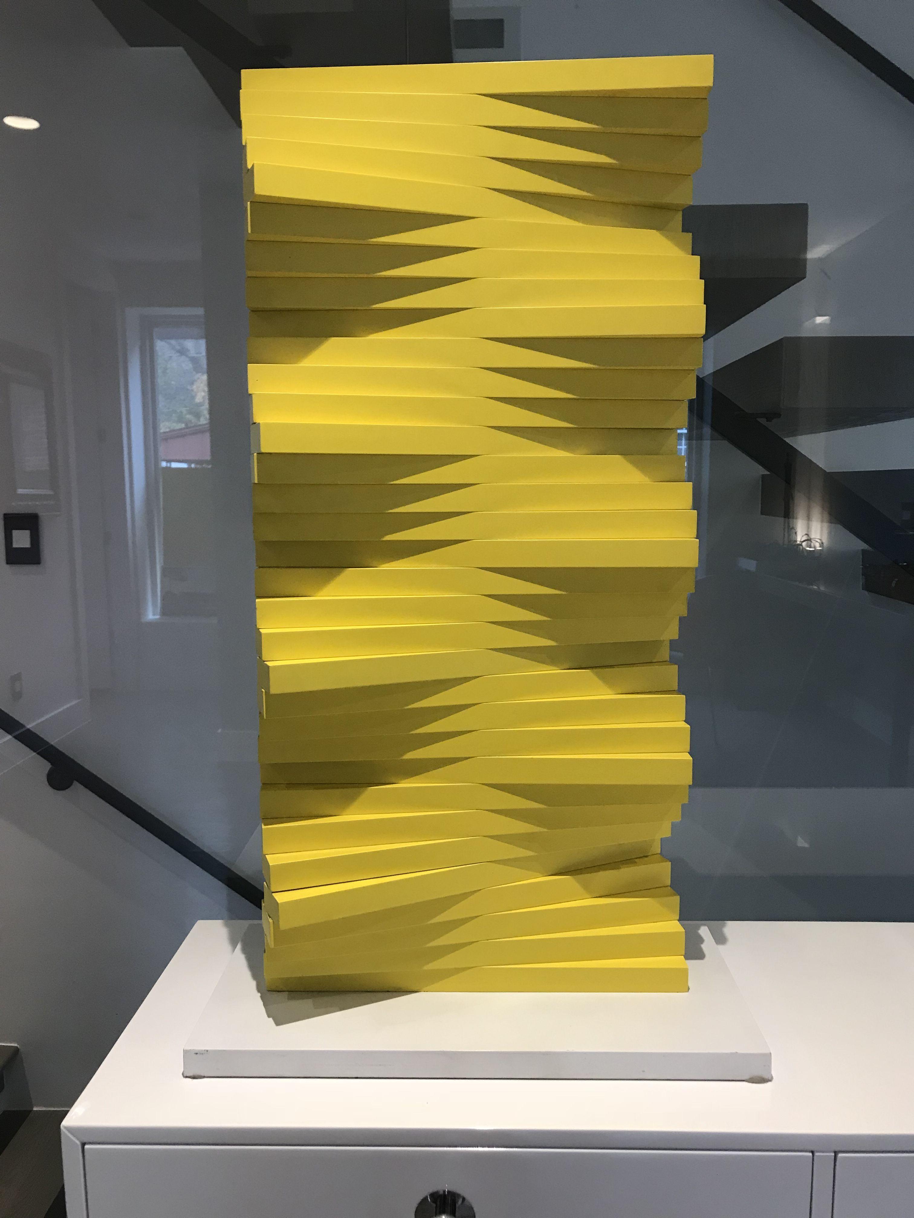 Authentic Herbert Bayer Tabletop Sculpture Denver CO Articulated ...