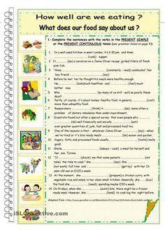 Present Simple X Present Continuous English Exercice Exercice Anglais Compréhension De Lecture