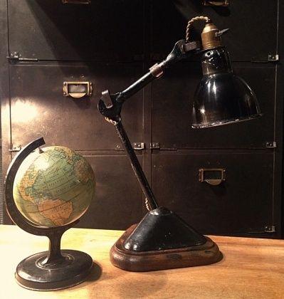 Ancienne Lampe D Architecte Gras Hods Design Luminaire