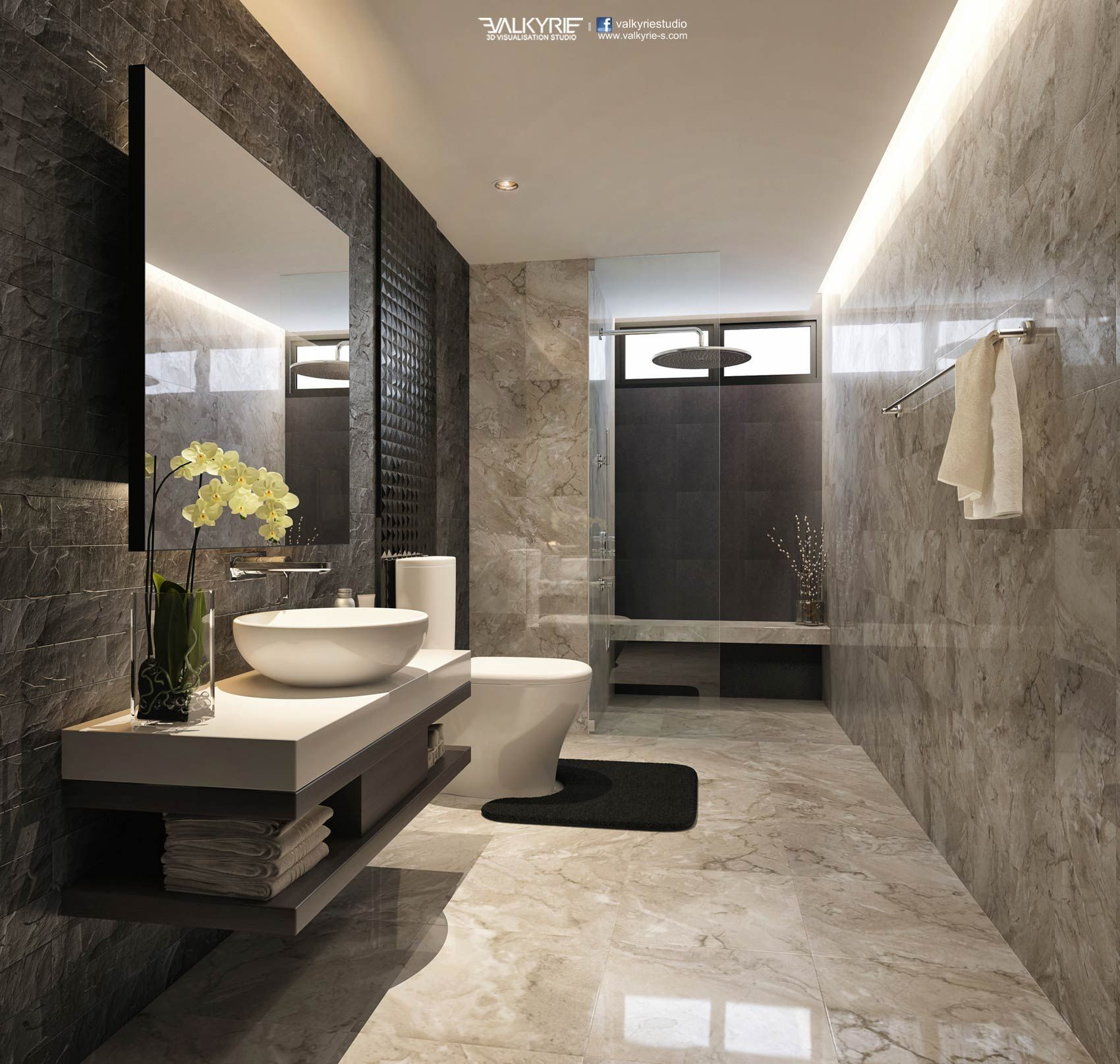 Working in a bathroom project? Get your inspiration here ...