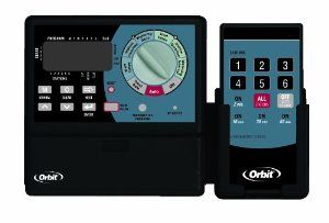Orbit Irrigation Controller 12-Station In-Out Timer Large LCD Dial Remote