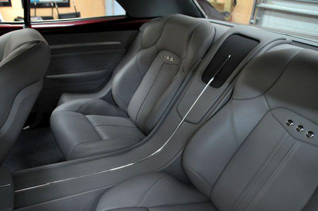 Becausess 67 Chevelle Custom Interior Tiburon Seats