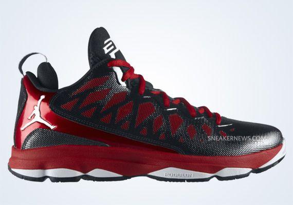 sports shoes ae85f e52ab Jordan CP3.VI Black White Gym Red 535807 003 CP3 Shoes 2013