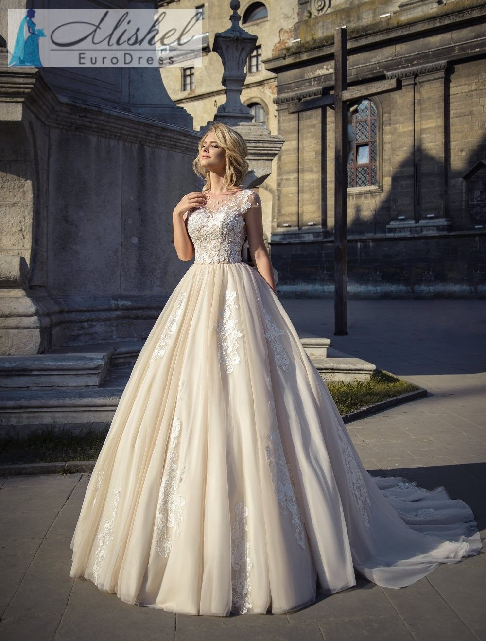Vestido De Novia Sv020 Coleccion Plasencia Hecho En Europa