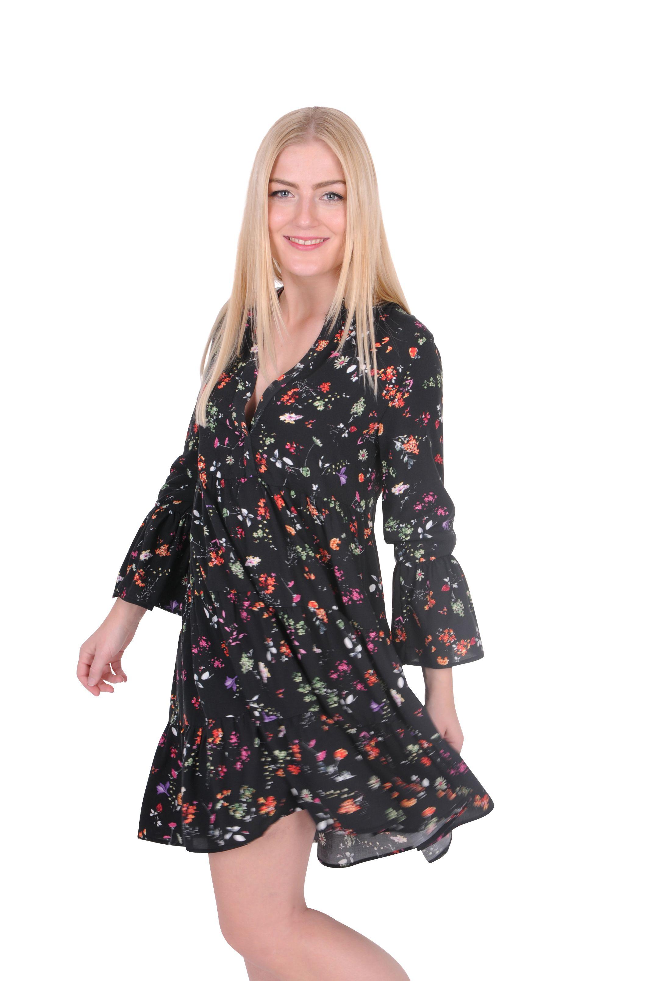 better rich - kleid mit flower print | kleider | röcke