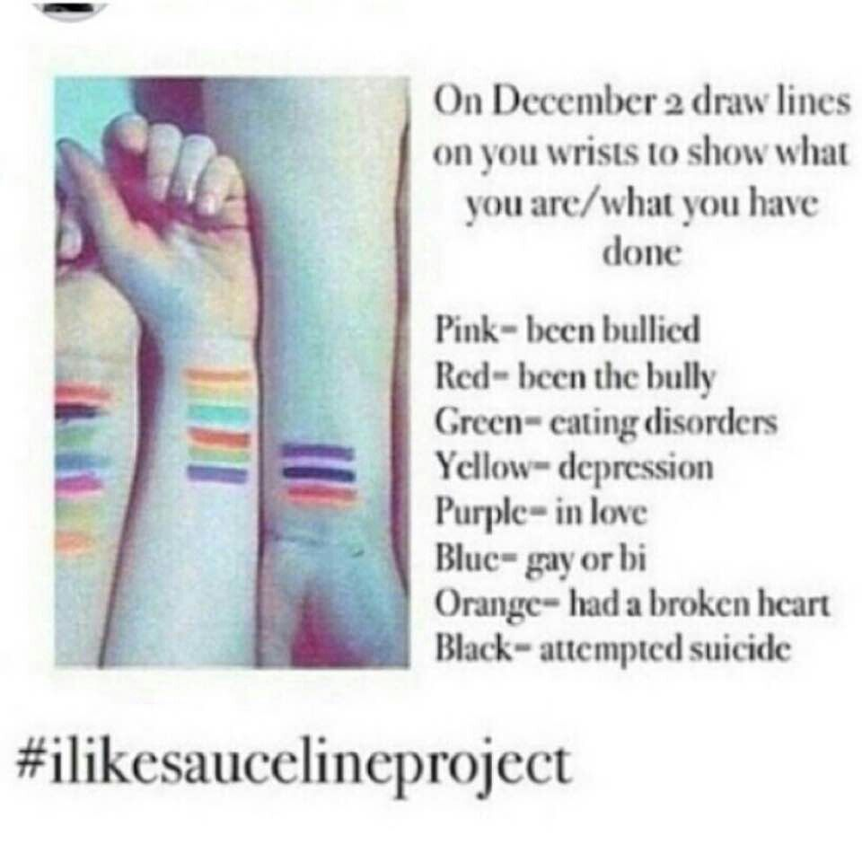 Do it and tell your friends the meanings of all of the colors on do it and tell your friends the meanings of all of the colors on your wrist biocorpaavc