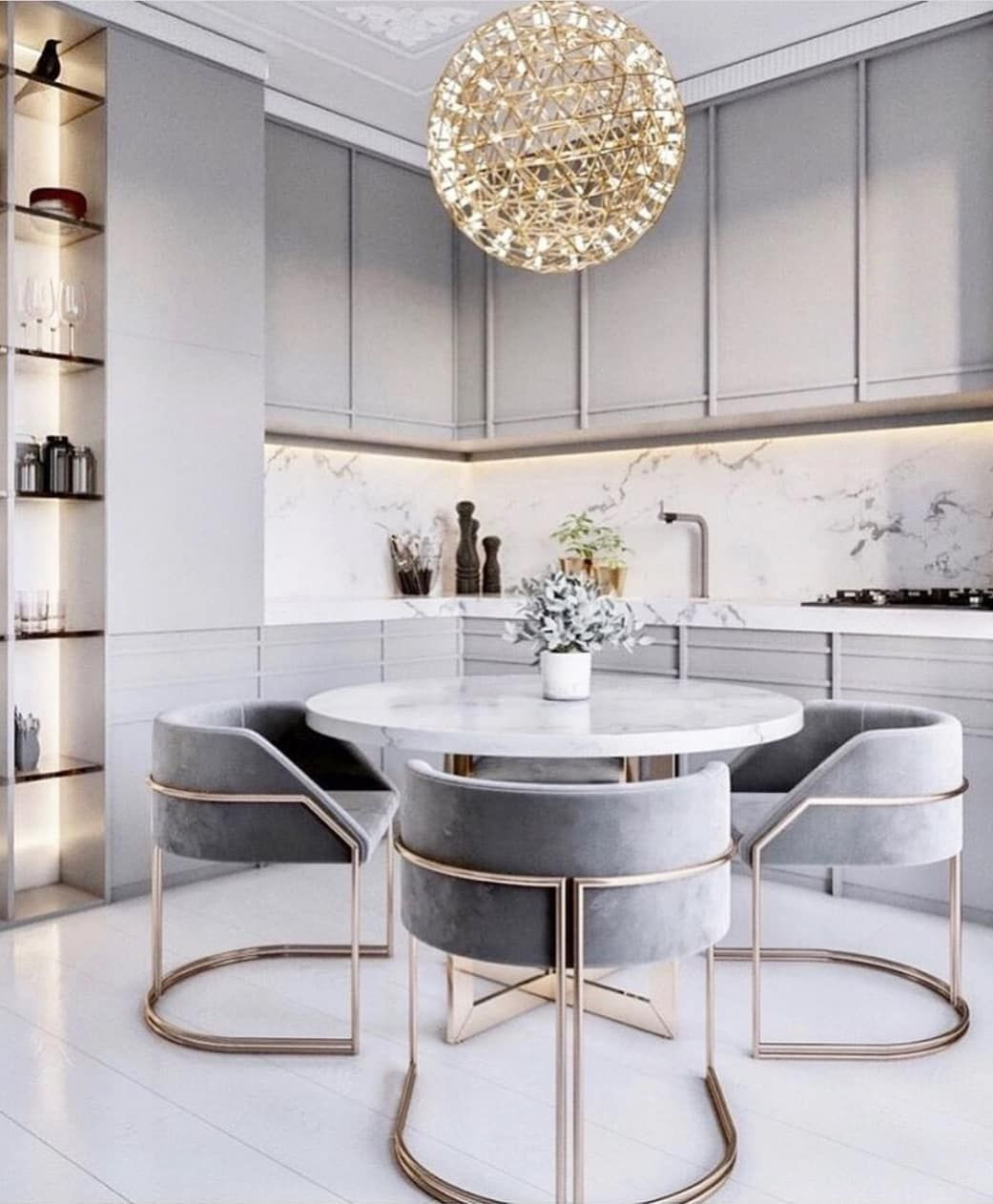 Outstanding Transitional Dining Room Suitable For Any Home: Small But Pretty , Comfortable Chic #apartmentdecor