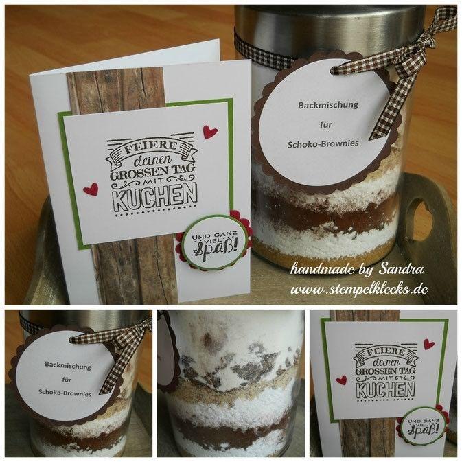 Rezept zum Kuchen im Glas (Backmischung) Geschenke aus der Küche - selbstgemachtes aus der küche