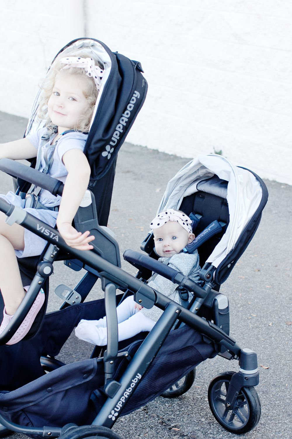 UppaBaby Vista Double Stroller Review + Knit Headband Tutorial ...