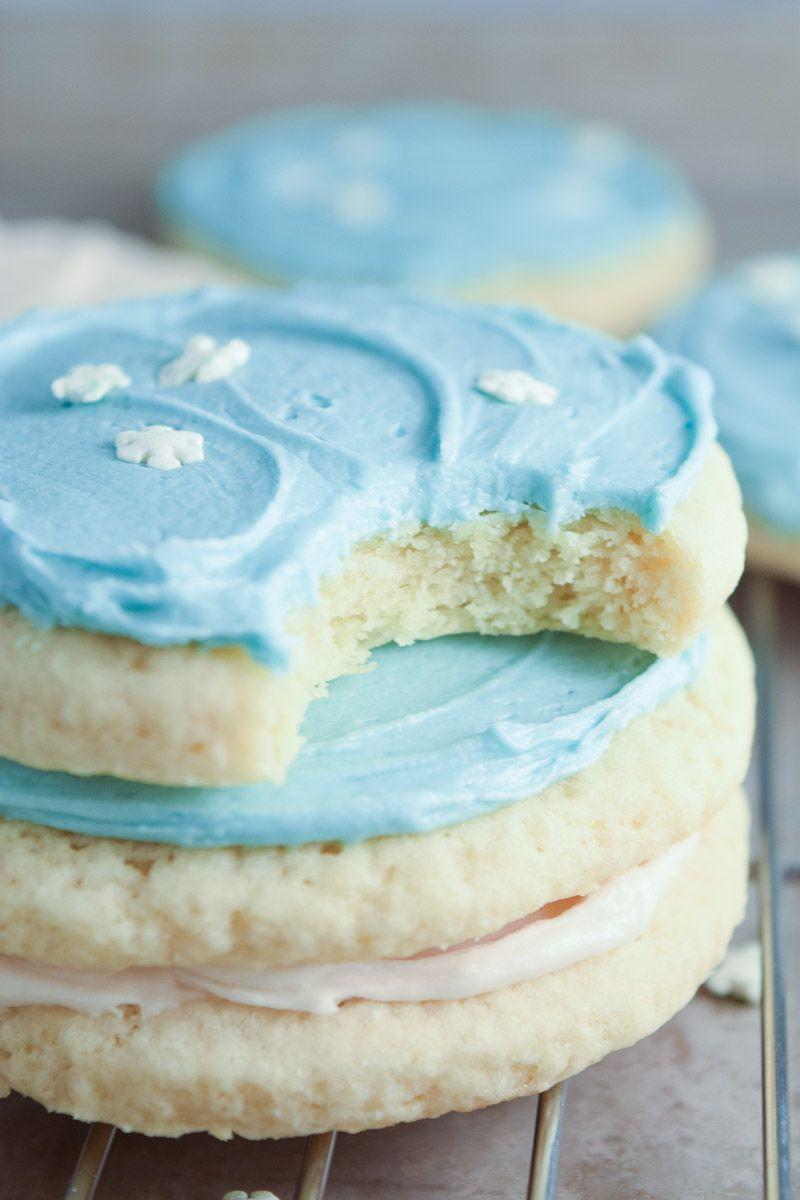 Soft Sour Cream Sugar Cookies My Homemade Heaven Recipe Sour Cream Cookies Sour Cream Sugar Cookies Sugar Cookies Recipe
