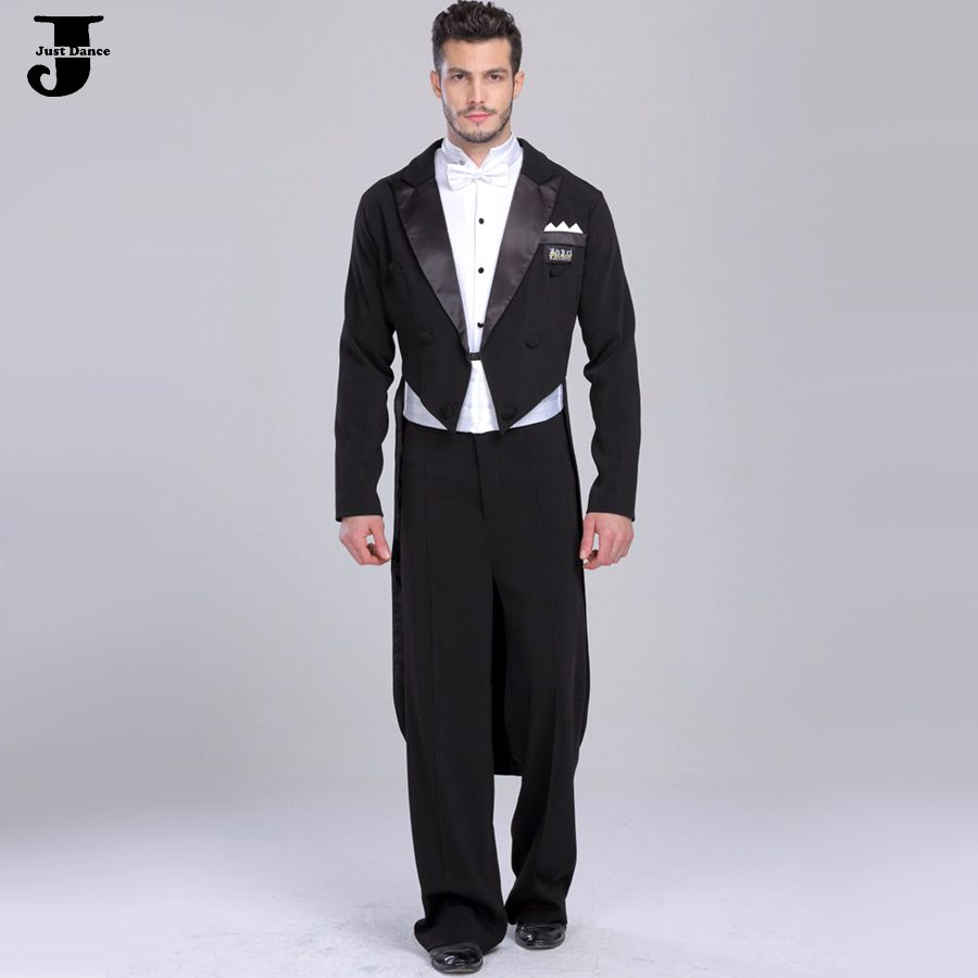 9635e8130a05 Cheap 2016 Uomini Standard Ballroom Dance Dress Coat & Shirt & Pants ...
