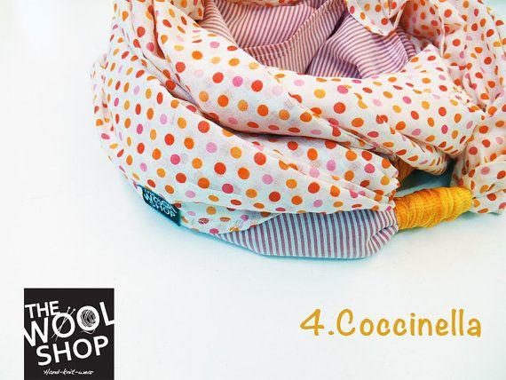 NODO sciarpa estiva made in Italy 100 cotone di TheWoolShopItaly