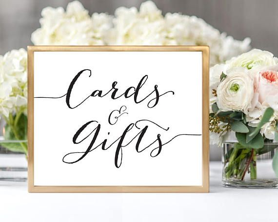 Cards  Gifts Sign Template Instantly download and print your own - Download Numbers Spreadsheet For Mac