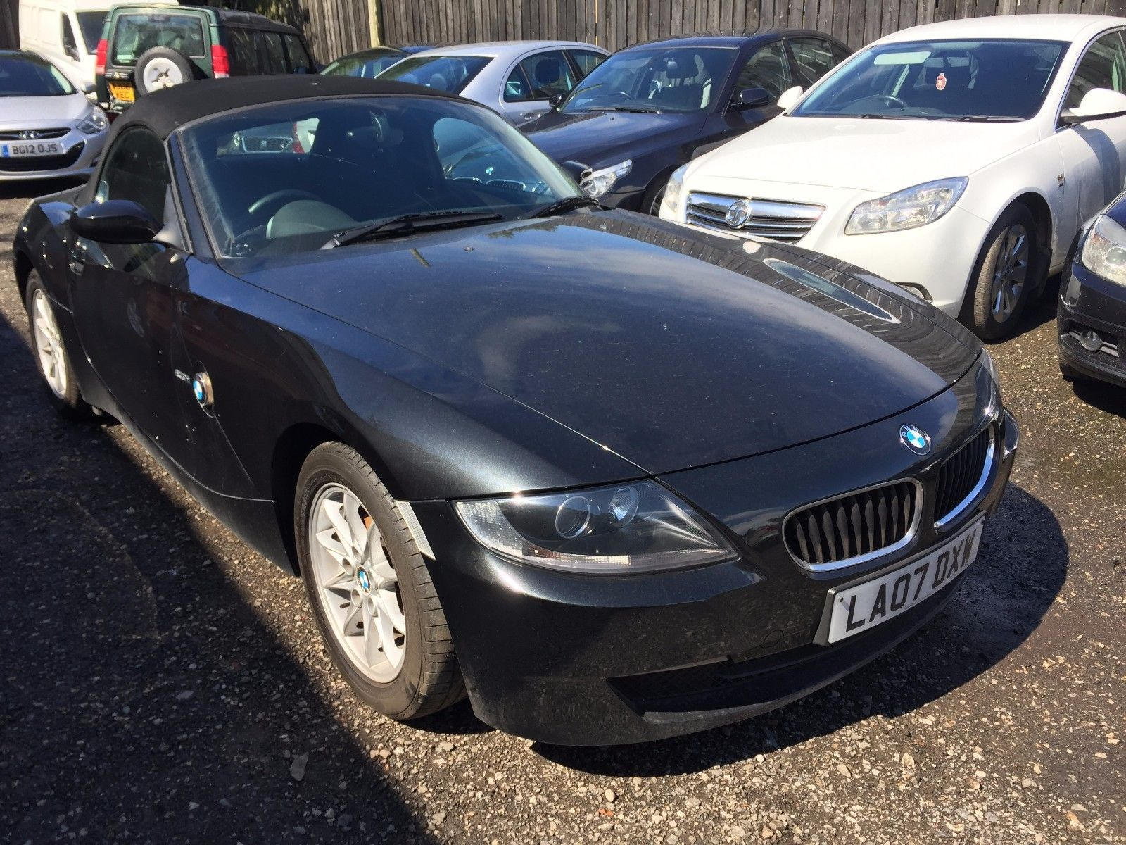 hight resolution of 2007 bmw z4 2 0i se convertible manual non runner spares or repair bmw z4