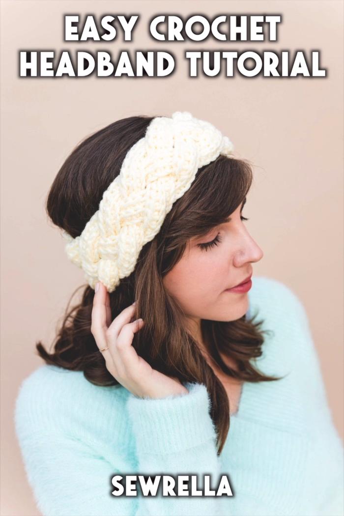 Photo of Easy Crochet Headband – free pattern & tutorial