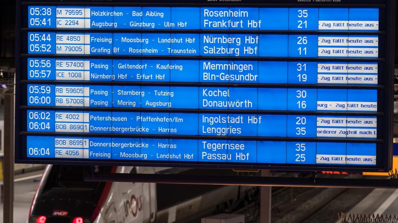Bahn Streik Live Ticker